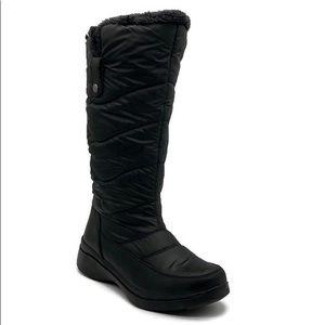 London Fog Waterproof Peyton Faux Fur Tall Boots